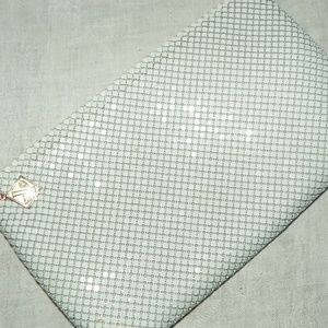Whiting & Davis Bags - Vtg Whiting and Davis International White Clutch